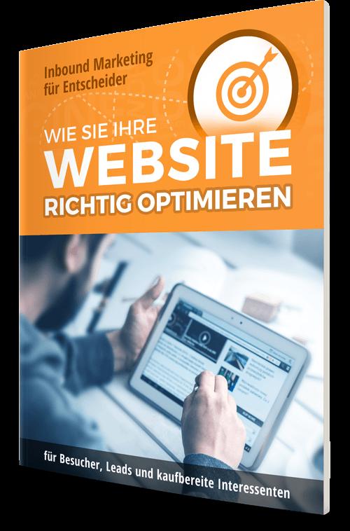 E-Book: Wie Sie Ihre Website richtig optimieren